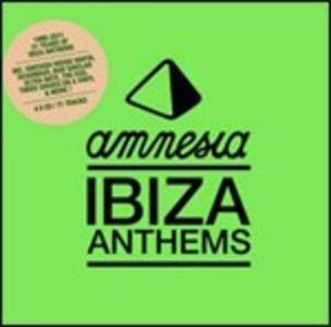 Amnesia Ibiza Anthems 1990-2011. 21 Years of Ibiza Anthems - CD Audio