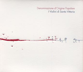 Denominazione d'origine popolare - CD Audio di Violini di Santa Vittoria