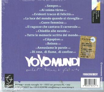 Evidenti tracce di felicità - CD Audio di Yo Yo Mundi - 2