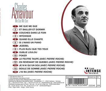 Me que me que - CD Audio di Charles Aznavour - 2