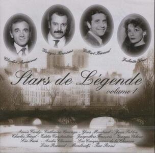 Stars de Legende vol.1 - CD Audio