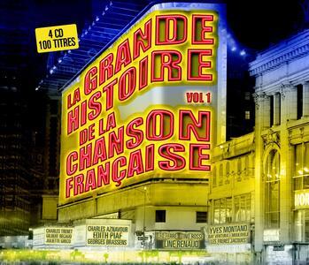 La grande histoire de la chanson francaise vol.1 - CD Audio