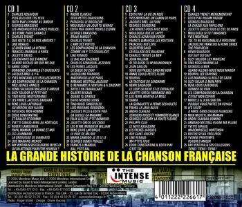 La grande histoire de la chanson francaise vol.1 - CD Audio - 2
