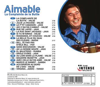 La Complainte de la Butte - CD Audio di Aimable - 2