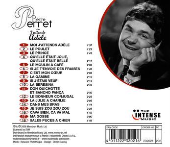 J'attends Adele - CD Audio di Pierre Perret - 2