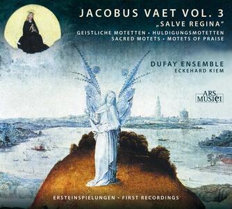 Salve Regina - CD Audio di Jacobus Vaet,Dufay Ensemble