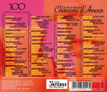 Les plus belles chansons d'amour - CD Audio - 2