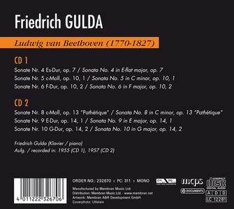 Gulda Plays Beethoven vol.2 - CD Audio di Ludwig van Beethoven,Friedrich Gulda - 2