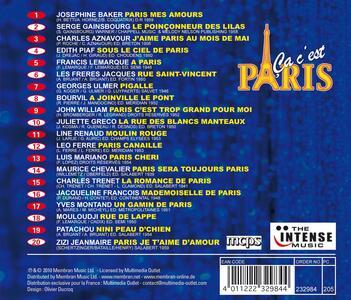 Paris mon amour - CD Audio - 2