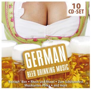German Beerdrinking Music - CD Audio