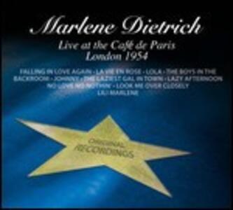 Live Paris London 1954 - CD Audio di Marlene Dietrich