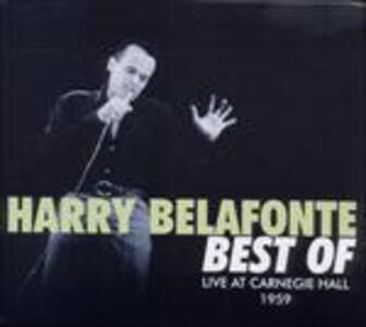 Live at Carnegie Hall '59 - CD Audio di Harry Belafonte