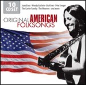 Original American Folksongs - CD Audio