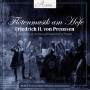 Musica per flauto alla corte di Federico II - CD Audio