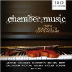 Chamber Music from Baroque Contemporary - CD Audio