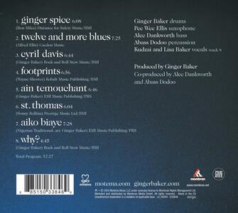 Why (Digipack) - CD Audio di Ginger Baker - 2