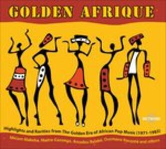 Golden Afrique - CD Audio