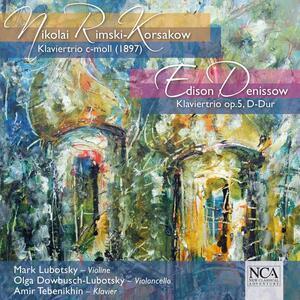 Trii con Pianoforte - CD Audio di Nikolai Rimsky-Korsakov,Edisson Vasilievic Denissov
