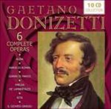 Sei opere complete - CD Audio di Gaetano Donizetti,Luciana Serra,Daniela Dessì,Rockwell Blake,Pietro Ballo