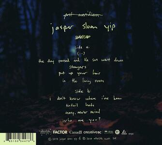 Post Meridiem - CD Audio di Jasper Sloan Yip - 2