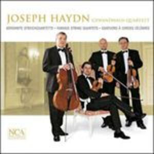 Quartetti per archi - CD Audio di Franz Joseph Haydn,Gewandhaus Quartett Lipsia