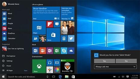 Microsoft Win Professional10 32/64 Bit - Switch - 6