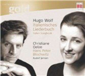 Italienisches Liederbuch - CD Audio di Hugo Wolf