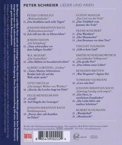 Songs And Arias - CD Audio di Peter Schreier - 2