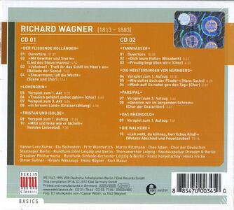 Wagner. Best of - CD Audio di Richard Wagner - 2
