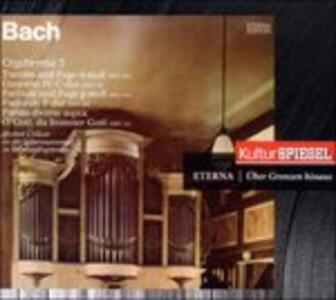 Orgelwerke Auf - CD Audio di Johann Sebastian Bach
