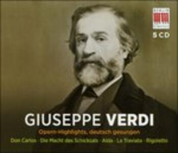 Opernhighlights - Ger - - CD Audio di Giuseppe Verdi