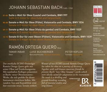 New Oboe Sonatas - CD Audio di Johann Sebastian Bach - 2