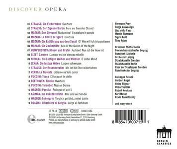 Discover Opera - CD Audio - 2