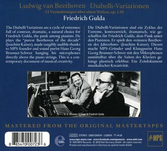 Variazioni Diabelli - CD Audio di Ludwig van Beethoven,Friedrich Gulda - 2