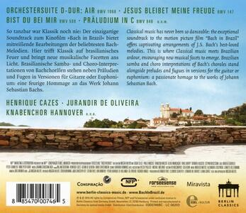 Bach in Brazil (Colonna Sonora) - CD Audio di Johann Sebastian Bach - 2