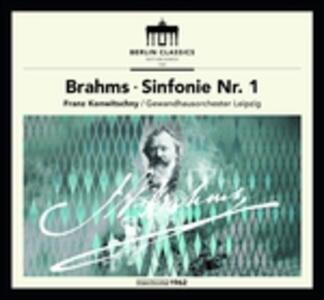 Symphony No.1 (Digipack) - CD Audio di Johannes Brahms