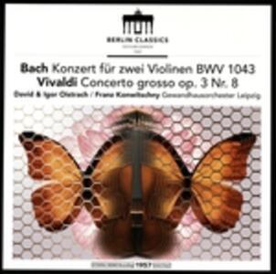 Concerti per Due Violini - Vinile LP di Johann Sebastian Bach,Antonio Vivaldi
