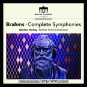 Sinfonie Complete - CD Audio di Johannes Brahms