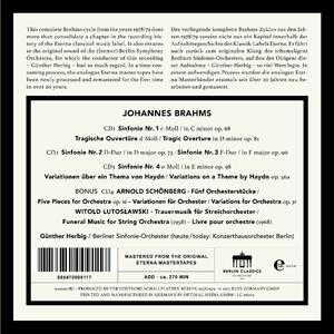 Sinfonie Complete - CD Audio di Johannes Brahms - 2