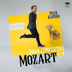 Concerti per corno n.1, n.2, n.3, n.4 - CD Audio di Wolfgang Amadeus Mozart,Camerata Salzburg,Felix Klieser