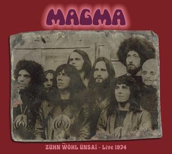 Zuhn Wohl Unsai - CD Audio di Magma