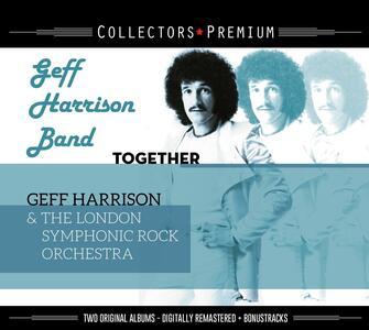 Collectors Premium. Together & Harrison - CD Audio di Geff (Band) Harrison