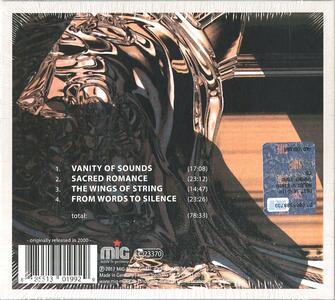 Vanity of Sounds - CD Audio di Klaus Schulze - 2