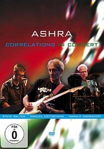 Ashra. Correlations in Concert - DVD