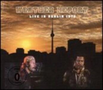 Live in Berlin 1975 - CD Audio + DVD di Weather Report