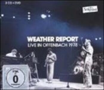 Live in Offenbach 1978 - CD Audio + DVD di Weather Report