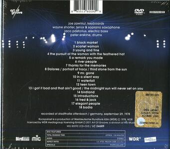 Live in Offenbach 1978 - CD Audio + DVD di Weather Report - 2