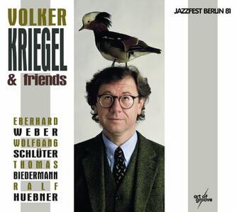 Live at Jazzfest Berlin 1981 - CD Audio + DVD di Volker Kriegel