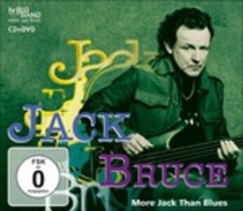 More Jack Than Blues - CD Audio + DVD di Jack Bruce,HR-Big Band