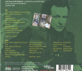 More Jack Than Blues - CD Audio + DVD di Jack Bruce,HR-Big Band - 2